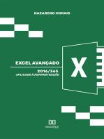 Excel Avançado 2016/365: aplicado à administração