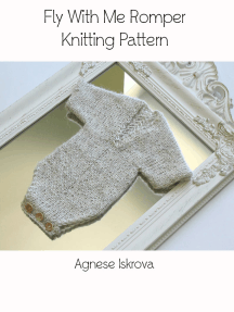 Fly With Me Romper Knitting Pattern