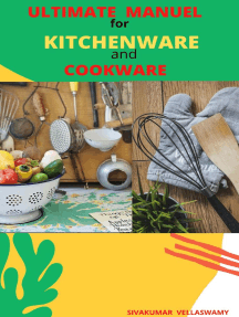 Ultimate Manuel for Kitchenware and Cookware