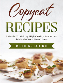 Copycat Recipes