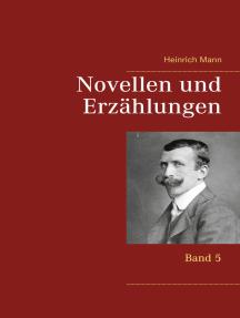 Novellen und Erzählungen: Band 5