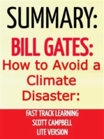 Summary: Bill Gates: How to Avoid a Climate Disaster: Fast Track Learning: Lite Version: The Solutions We Have and the Breakthroughs We Need
