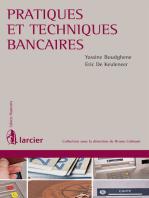 Pratiques et techniques bancaires