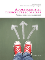 Adolescents et difficultés scolaires: Approche de la complexité