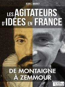 Les agitateurs d'idées en France: De Montaigne à Zemmour