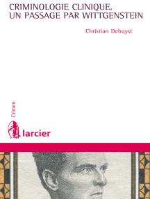 La criminologie clinique, un passage par Wittgenstein