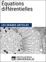 Équations différentielles: Les Grands Articles d'Universalis