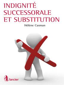 Indignité successorale et substitution