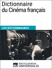 Dictionnaire du Cinéma français: Les Dictionnaires d'Universalis