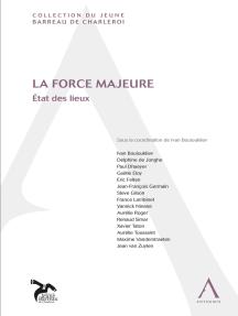 La force majeure: État des lieux (Belgique)