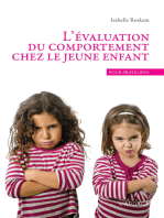L'évaluation du comportement chez le jeune enfant: Un ouvrage de psychologie pour praticiens