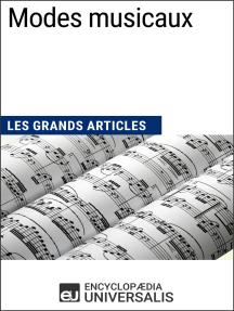 Modes musicaux: Les Grands Articles d'Universalis
