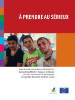 À prendre au sérieux: L'accès des jeunes des quartiers défavorisés aux droits sociaux