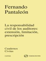 La responsabilidad Civil de los auditores