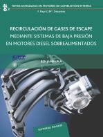 Recirculación de gases de escape mediante sistemas de baja presión en motores Diesel (UPV20)