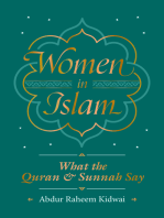 Women in Islam: What the Qur'an and Sunnah Say