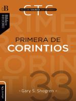 Primera de Corintios: Un comentario exegético–pastoral