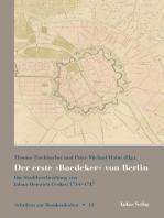 Der erste »Baedeker« von Berlin