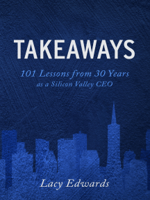 Takeaways: 101 Lessons from 30 years as a Silicon Valley CEO
