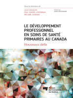 Le DEVELOPPEMENT PROFESSIONNEL EN SOINS DE SANTE PRIMAIRES AU CANADA: Nouveaux défis
