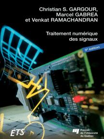 Traitement numérique des signaux - 3e édition