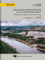 Des ponts interculturels à la rivière Romaine?: Développement nordique et territorialités innues