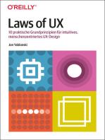 Laws of UX: 10 praktische Grundprinzipien für intuitives, menschenzentriertes UX-Design
