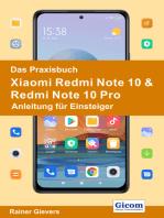 Das Praxisbuch Xiaomi Redmi Note 10 & Redmi Note 10 Pro - Anleitung für Einsteiger