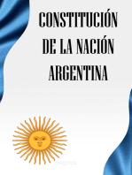 La Constitución de la Nación Argentina