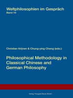 Philosophical Methodology in Classical Chinese and German Philosophy