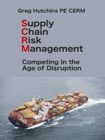 Supply Chain Risk Management: Competing In the Age of Disruption