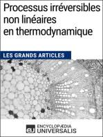Processus irréversibles non linéaires en thermodynamique: Les Grands Articles d'Universalis