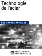 Technologie de l'acier: Les Grands Articles d'Universalis