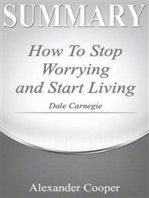 Summary of How to Stop Worrying and Start Living