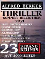 Thriller Sommer Bibliothek 2021