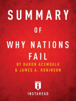 Summary of Why Nations Fail: by Daron Acemoglu and James A. Robinson   Includes Analysis