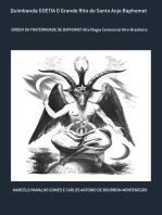 Quimbanda Goetia O Grande Rito Do Santo Anjo Baphomet