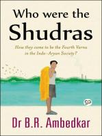 Who were the Shudras