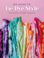 DIY Guide to Tie Dye Style