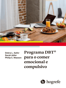 Programa DBT® para o comer emocional e compulsivo