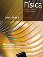 Física para la ciencia y la tecnología. Física moderna (6ª Ed.): Mecánica cuántica, relatividad y estructura de la materia