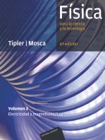 Física para la ciencia y la tecnología. Volumen 2 (6ª Ed.): Electricidad y magnetismo/Luz