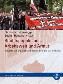Rechtspopulismus, Arbeitswelt und Armut: Befunde aus Deutschland, Österreich und der Schweiz
