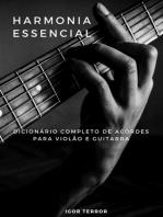 Dicionário De Acordes Completo Para Violão E Guitarra