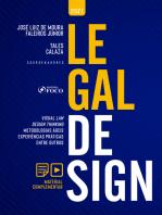 Legal Design: Visual Law, Design Thinking, Metodologias Ágeis, Experiências Práticas, entre outros
