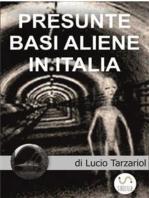 Presunte Basi aliene in Italia