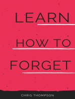 Learn How To Forget