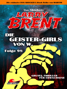 Dan Shocker's LARRY BRENT 98: Die Geister-Girls von W.