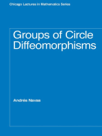 Groups of Circle Diffeomorphisms
