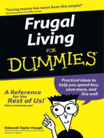 Frugal Living For Dummies